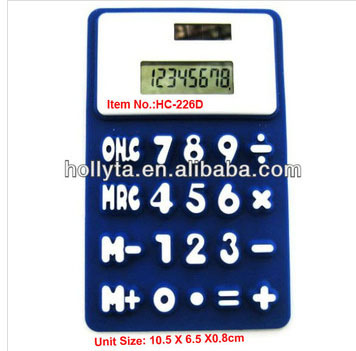 Small silica gel in the calculator,8 Digital Solar Silicon Calculator