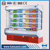 multi-deck open chiller used in retail shop