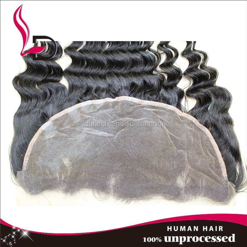 New arrival lace frontal high quality factory price 13*4 brazilian hair invisible part closure