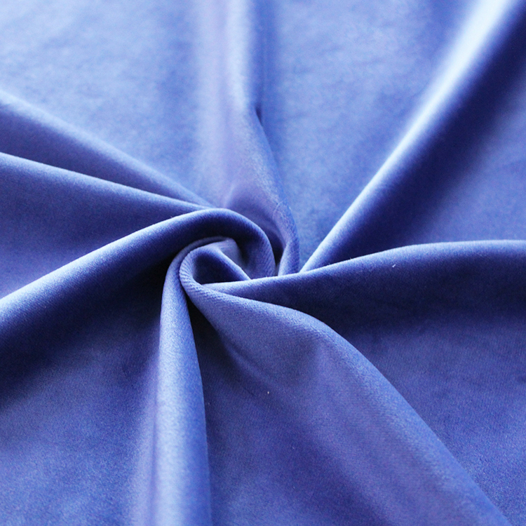The Fine Quality holland velour 100 polyester velvet fabric for warm clothing