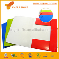2014 Hot Sale and Supplier paper folder/elastic paper folder/paper file folder with pocket
