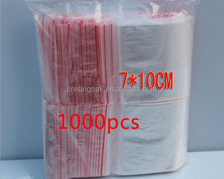 Plastic Resealable PE Bag Distributor