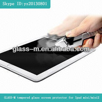 Tempered glass film,china sexy blue film,tempered glass screen protector for Ipad Mini/Mini2