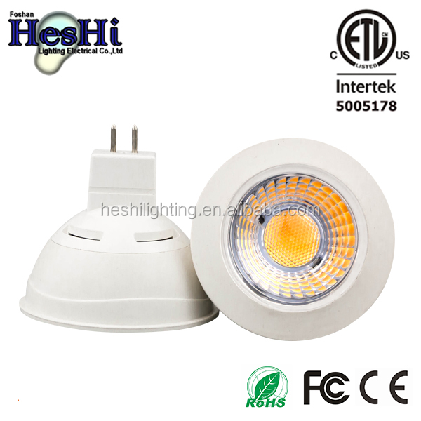 led spot light gu10 mr16 gu5.3 led lamp 5w