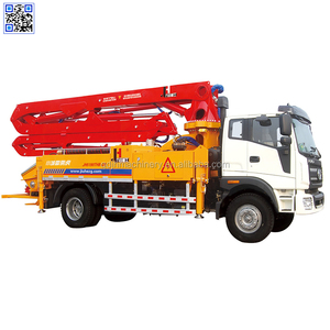 JIUHE Concrete Pump for sale in India 27m Concrete boom pump truck price