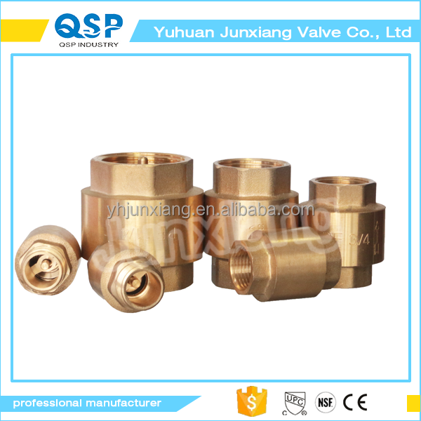 "3/4"" Lead-Free CW617N NPT/G Air Water or Oil Brass Check Valve 1/4 check valve"