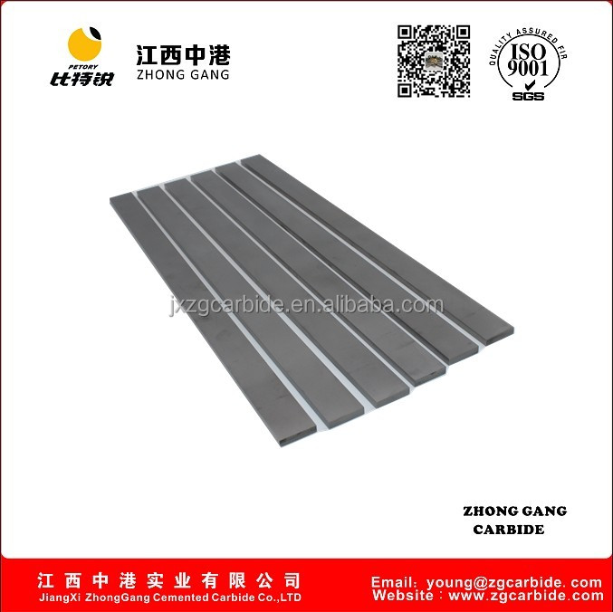 K10 tungsten carbide square blank sintered carbide bar with 320mm length