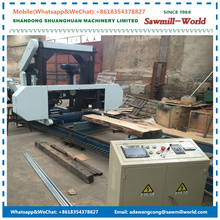 MJ1600E Horizontal Band Saw Portable Wood Electric Sawmill