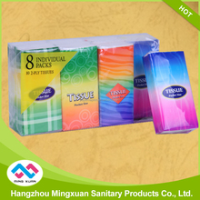 Hotsale Decorative 2Ply Pocket Tissue Size