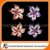 New Poppy Brooches Multicolor Pins Brooches Crystal Rhinestone Red Flowers Drip Brooch For Women Wedding Dress Low Price