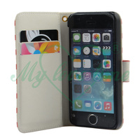 Silk print stripe pattern cover for apple iphone 5s