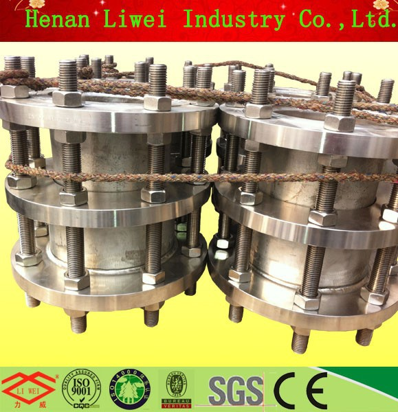 DN150 6inch Connecting with valve or pump dismantling SS316 stainless steel expansion joint