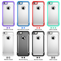 Hot sale New arrival hybrid protective case shock proof fit for iPhone 5 6s case PC and TPU