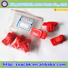 Automation professional produce plastic auto body fastener&Wholsale factory price auto plastic fastener made by ZX
