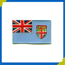 Polyester Flagpole Material and Embroidered Type Country Flags