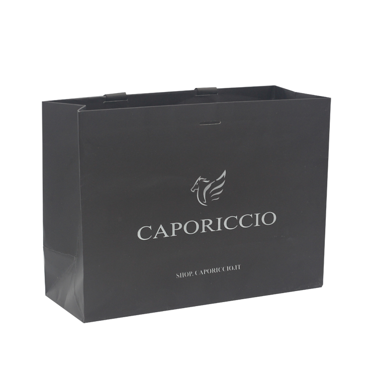 Chinese new year paper bag high quality luxury paper bag with logo print