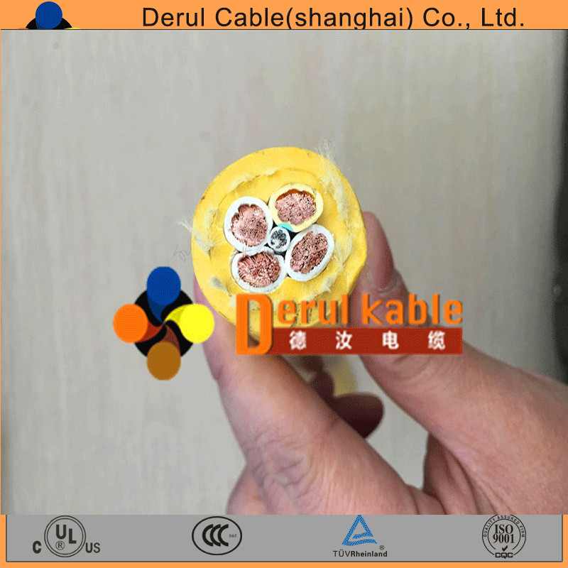 Undersea cable foam sheathed flexible cable