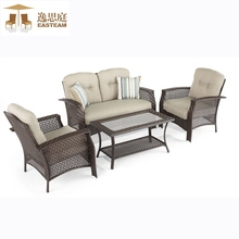 Garden Furniture Outdoor Antique Terrace Rattan Sofa Set Designs In Pakistan