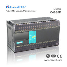 Original Haiwell C48S0P 48pionts cheap PLC controller for servo motor with best price