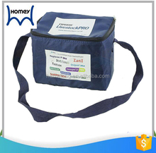 Aluminum cooler tote ice bag