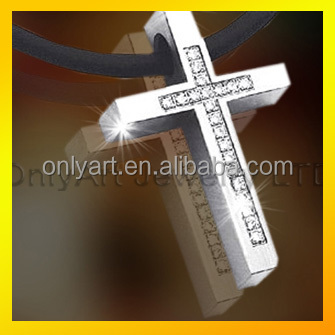 chic factory jewelry best price men stainless steel pendant cross pendant