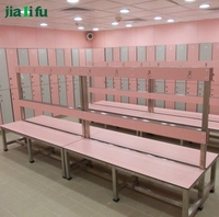 Jialifu hot sale fire resistance hpl locker room bench