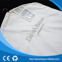 New arrival logo printing t-shirt bridal garment bags with good price