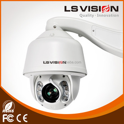 LS VISION 20x Optical Zoom and 32x Digital Zoom 2MP Auto Focus Auto Zoom CCTV IP PTZ Dome Cameras