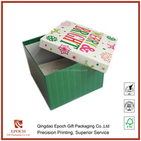 customized paper gift box packaging