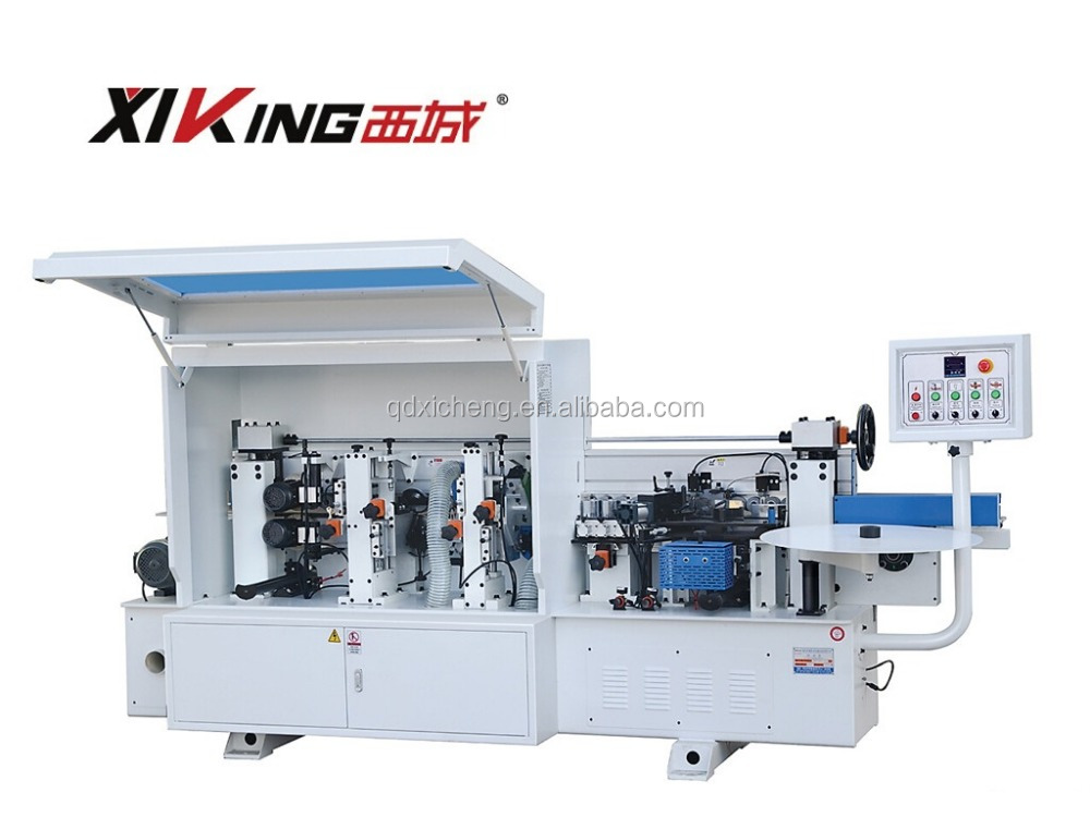 XIKING Brand Edge Banding Machine in Qingdao Semi-automatic Woodworking Machine Edge Bander For Furniture
