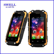 newest 2017 China Rugged Mobile Phone Dual core MTK6572 Discovery V3 Cheap Android 3G Smart Phones