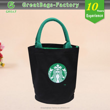 Custom Logo blank cotton canvas tote bag manufacturer