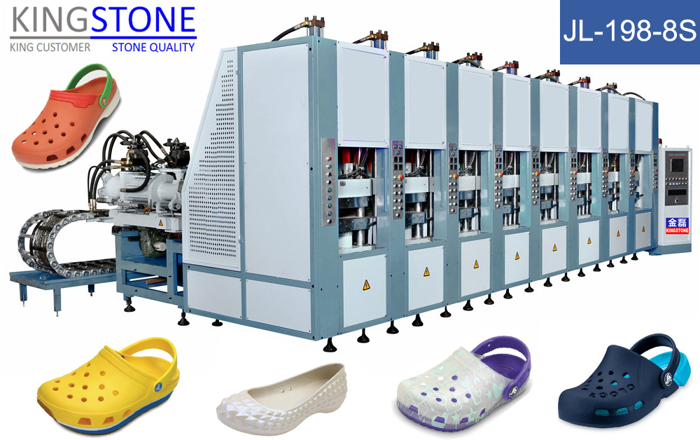 Machine Making Shoes Crocs JL-198
