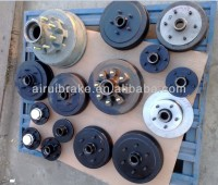 trailer part hub drum disc family for Australian market