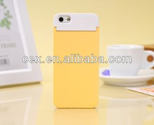 Fashion Flip Mirror Card Holder Satnd Case Cover FOR Apple iPhone 5 5S