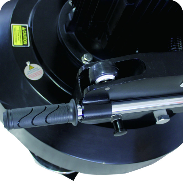 planetary 4 heads concrete floor grinder