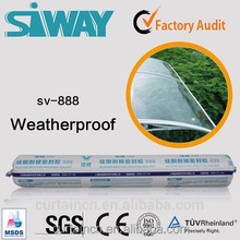 Neutral Construction Adhesive Use Weatherability Silicone Sealant
