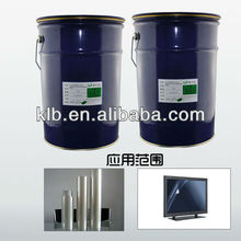 optical transparent silicon adhesive for films liquid silicone strongest glue for plastic