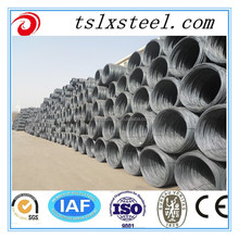 5.5mm Prime high tensile low carbon hot rolled steel wire rod in coils