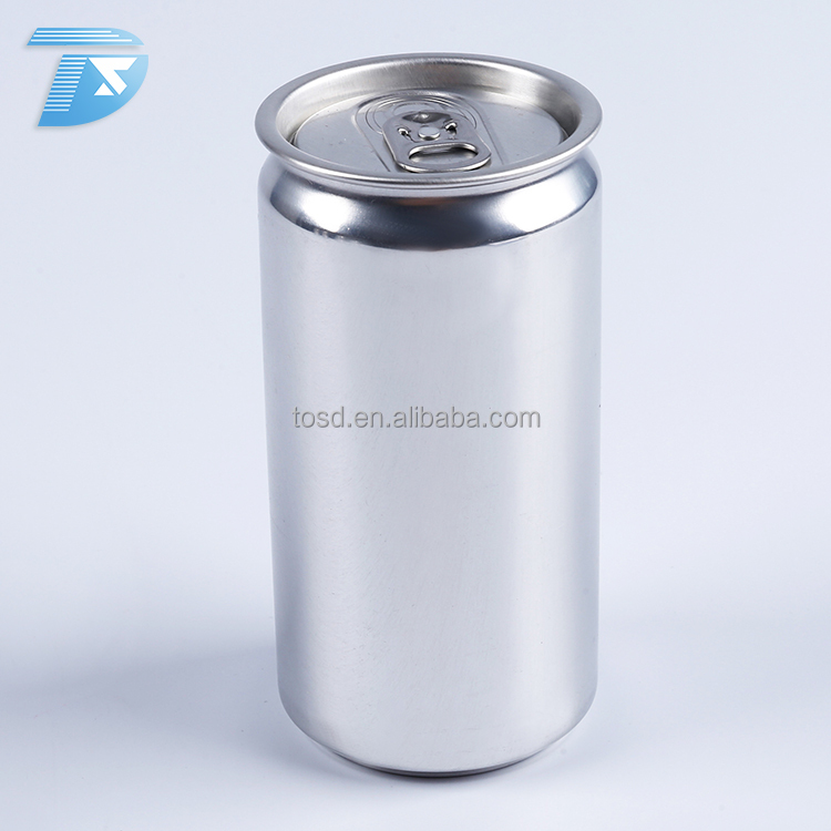 250ml sleek wholesale energy drink cans 2017 small empty aluminum cans easy open custom soda can
