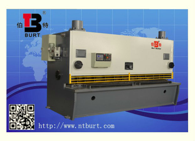 hydraulic plate guillotine shearing and cutting machine