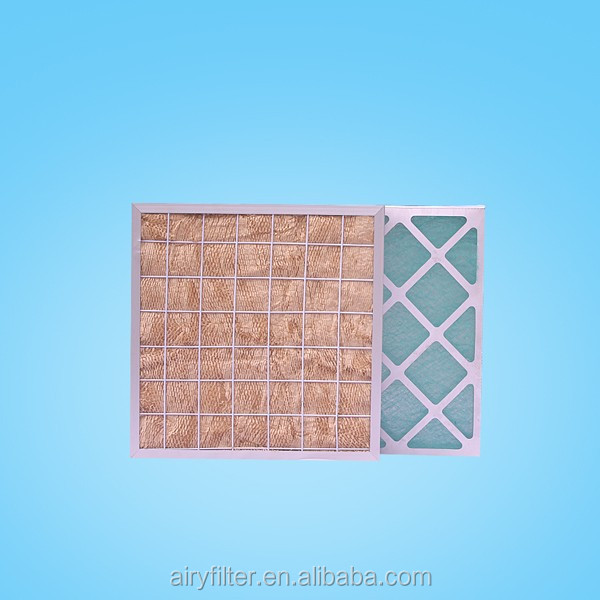 Airy material pleated filter Kraft Paper Frame Filter window dust air filter replacement