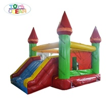 Plato Vinyl 0.55mm Inflatable Cheap Jumping Bounce castle For kids commercial rental