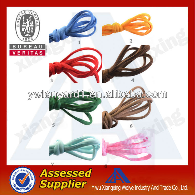 Fashion cheap custom bungee cord shoelaces