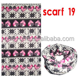 Best Promotional Gift Popular Winter Sports Fleece Bandana