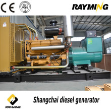 China diesel generator high power 700kw shangchai soundproof silent genset for reefer clip container generator