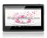 "7"" 2G GSM Tablet PC w/ WIFIn/ GPS/BT/OTG / Cam / TF (1.2GHz CPU, 4GB)"