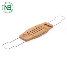 Natural Bamboo Bathtub Caddy Bath Tub tray