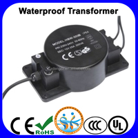 IP68 Waterproof 24V Transformer for led underwater light