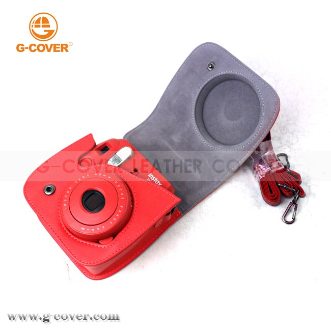 For polaroid camera case for Fuji Instax Mini8, Checky camera case for Mini8